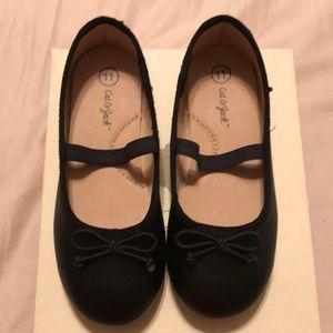 Cat & Jack - ballerina flats (girls size 11)